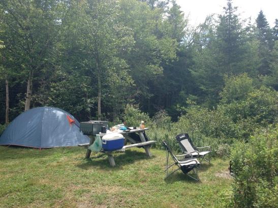 Grand Manan camp